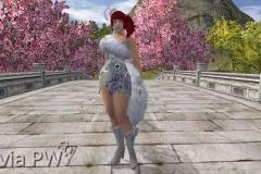 Conjunto de Coração de Raposa - Feminino (2)