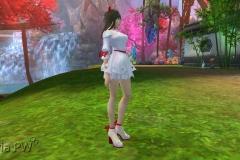 Conjunto de Laço Vermelho - Feminino (1)