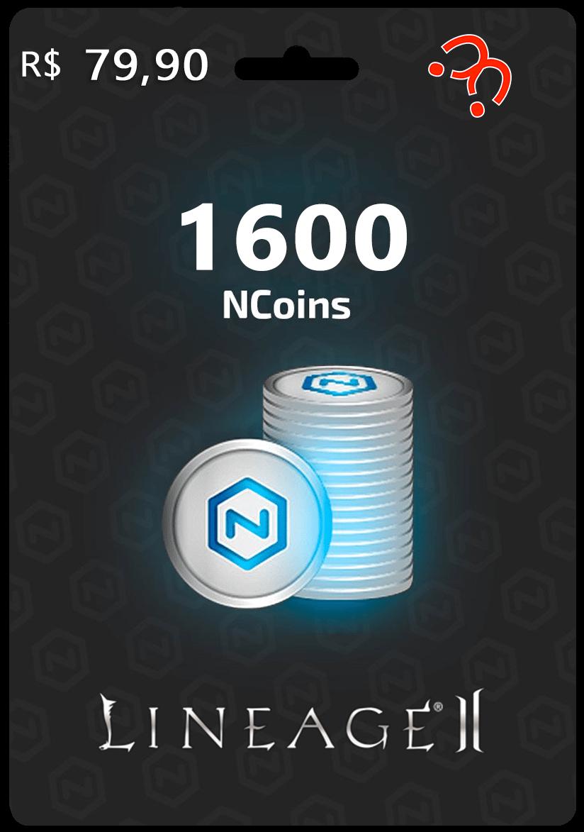 1600 NCoins Lineage II