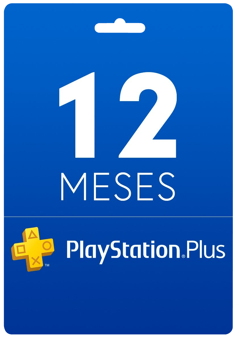 12 Meses – Cartão Virtual PlayStation Plus