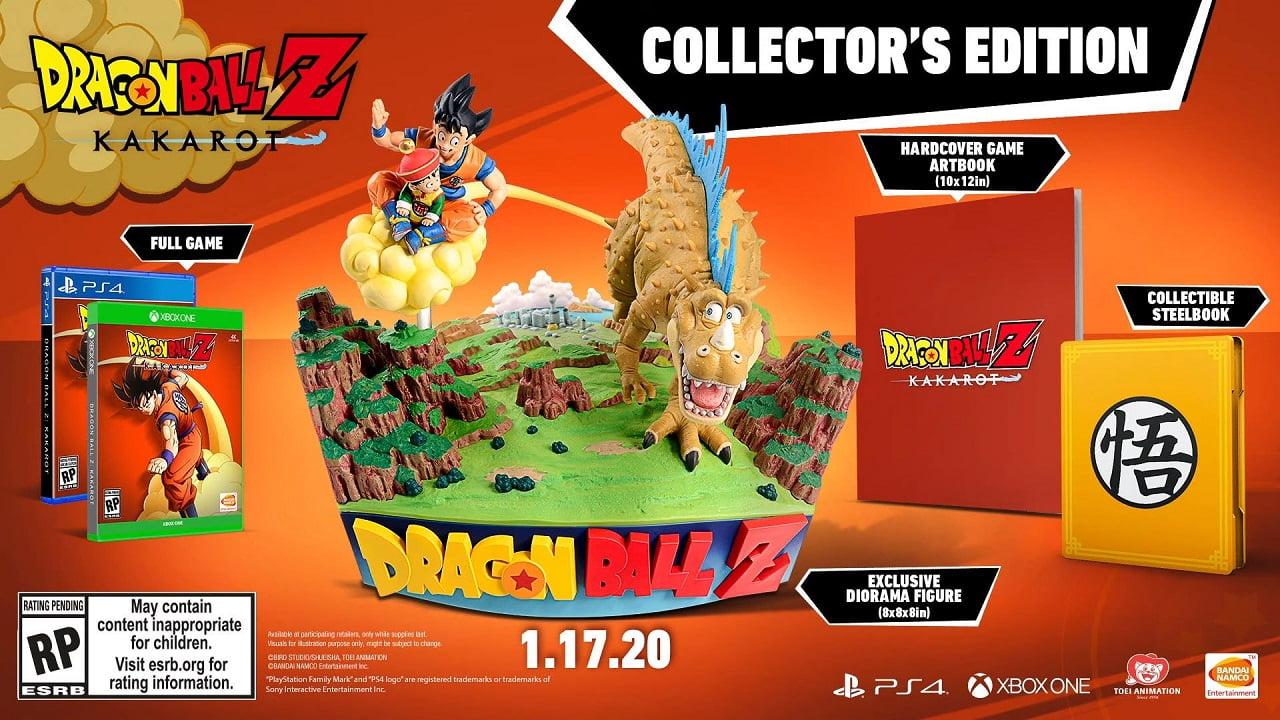 Dragon Ball Z: Kakarot terá edição com a Nuvem Voadora 2