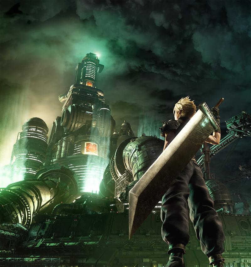 Final Fantasy VII Remake: Square Enix mostra arte icônica refeita 2