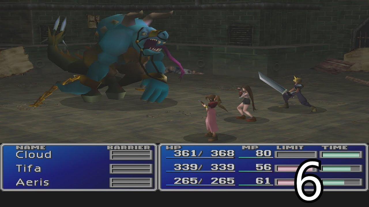 Novo gameplay de Final Fantasy VII Remake mostra boss fight contra Aps 1