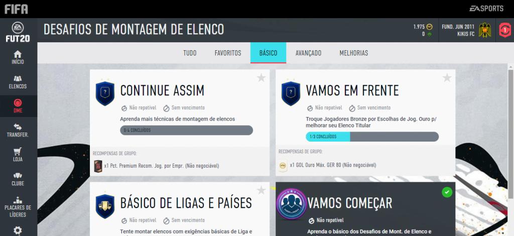 Web App do FIFA 20 é lançado; veja como usar 3