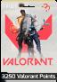 Cartão pré-pago 3250 Valorant Points + 375 VP Bônus – Valorant (BR)