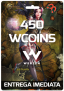 450 WCoin – C9: Continent of The Ninth Seal