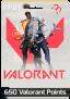 Cartão pré-pago 650 Valorant Points + 25 VP Bônus – Valorant (BR)